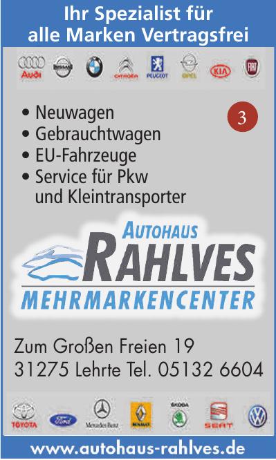 Autohaus Rahlves Mehrmarkencenter