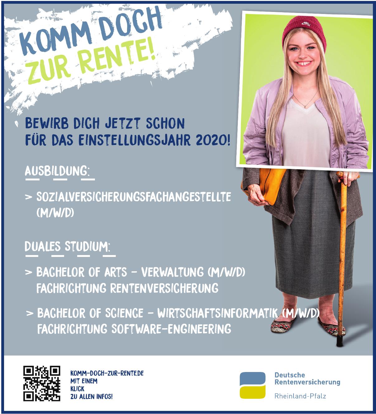 Deutschen Rentenversicherung Rheinland-Pfalz