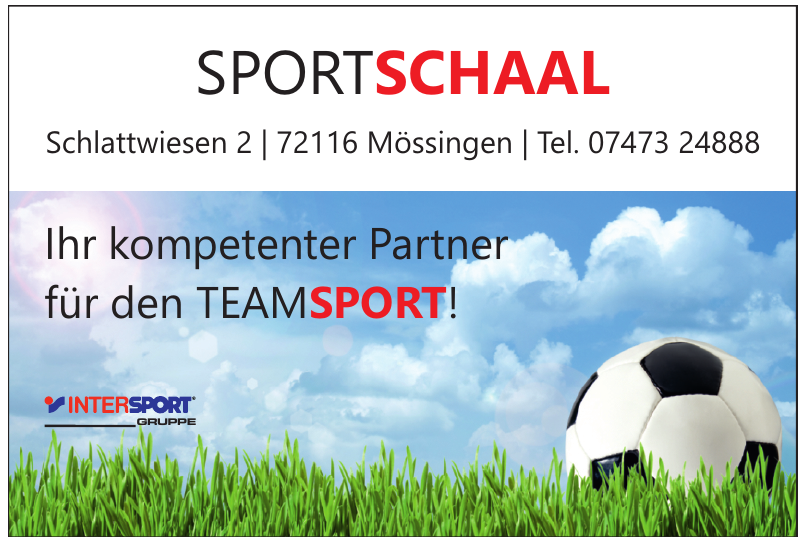 Sport Schaal