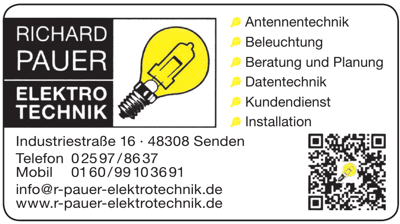 Richard Pauer, Elektrotechnik