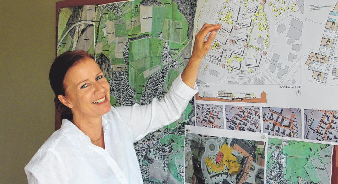 Bürgermeisterin Simone Rürup.