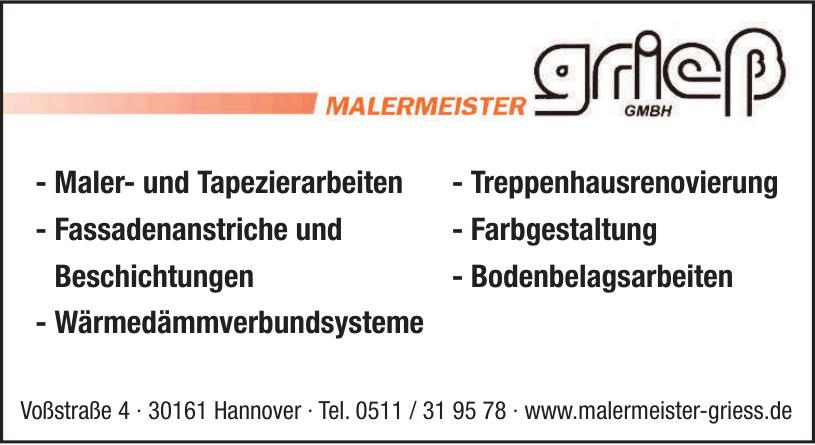 Malermeister Griess GmbH