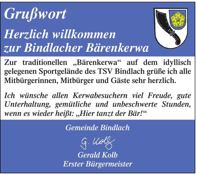 Gemeinde Bindlach