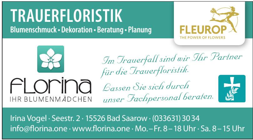 Florina Ihr Blumenmädchen
