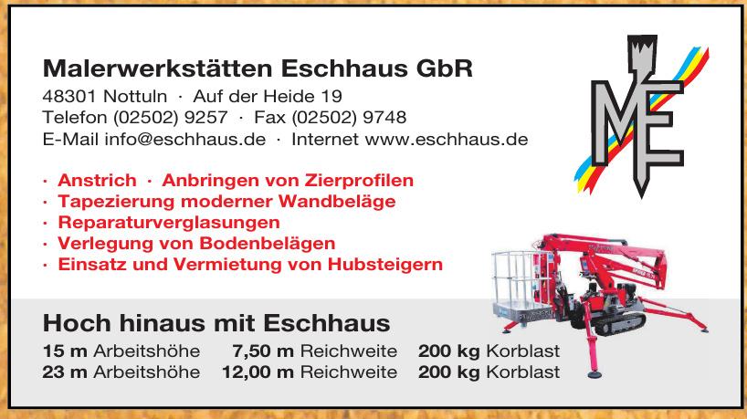 Malerwerkstätten Eschhaus GbR