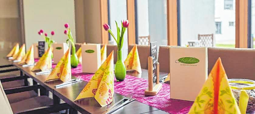 Das Restaurant ist beliebt für private Feiern. BILD: LANDOLIN