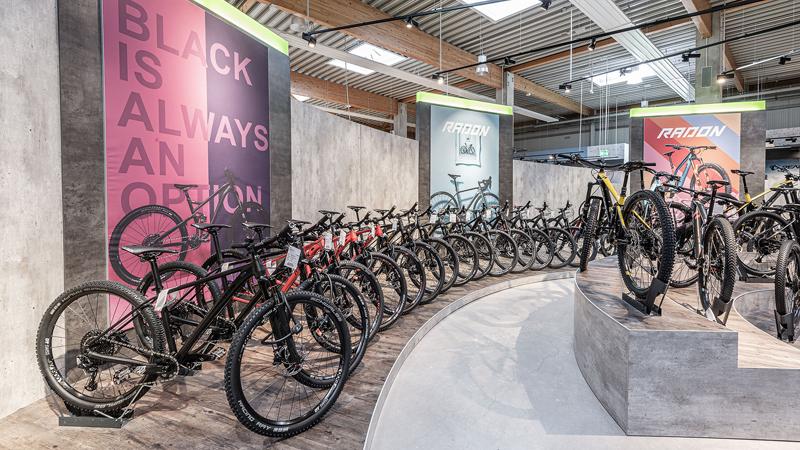 Welches Bike darf's denn sein? Eine so große Auswahl an Fahrrädern muss man in der Region suchen