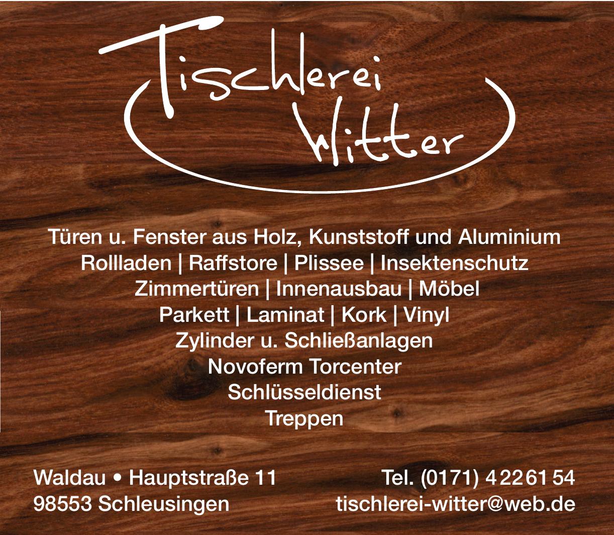 Tischlerei Witter