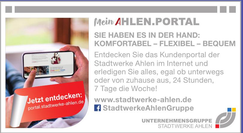 Unternehmensgruppe Stadtwerke Ahlen