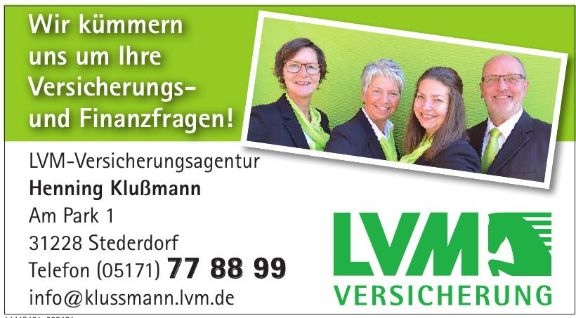 LVM-Versicherungsagentur Henning Klußmann