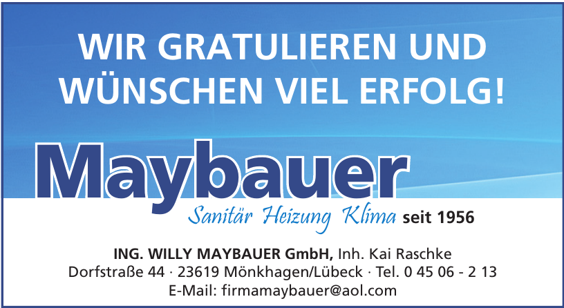 Ing. Willy Maybauer GmbH