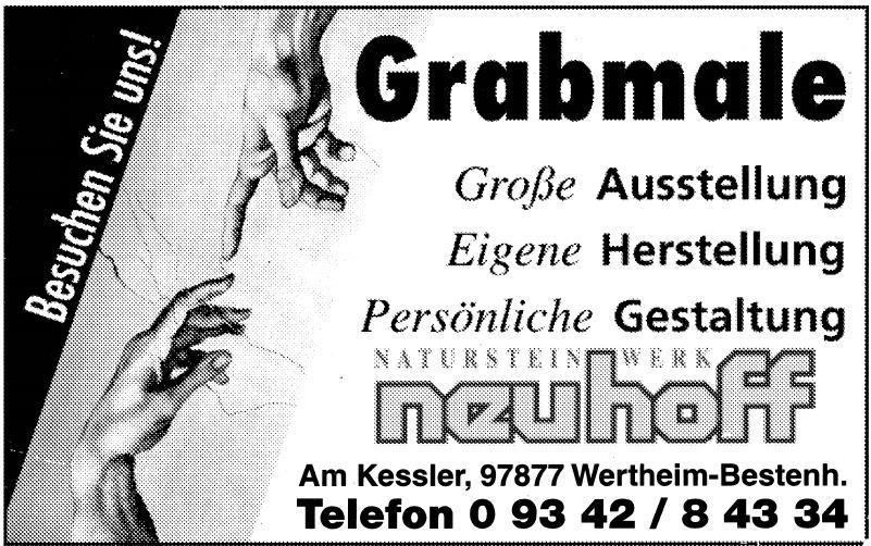Neuhoff Grabmale