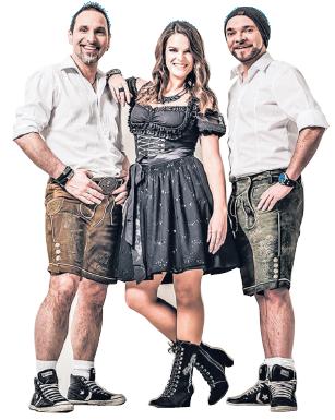 Party pur: Am Sonnabend sorgt die Band Edelweiß mit Wiesn-Hits für Stimmung im Festzelt