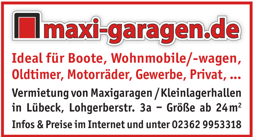 maxi-garagen Bau GmbH
