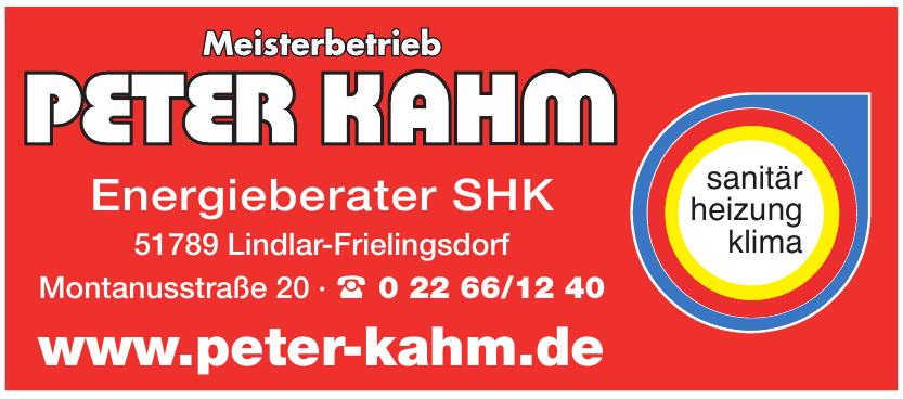 Peter Kahm Energieberater SHK