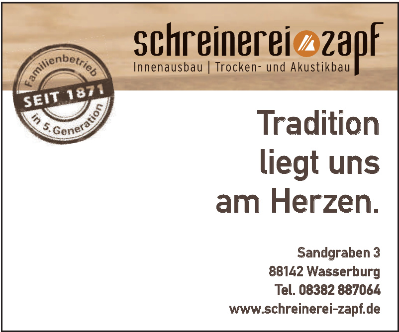 Schreinerei Zapf