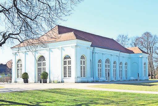 Gern besucht: Orangerie in Oranienburg. FOTO: JEANNETTE HIX