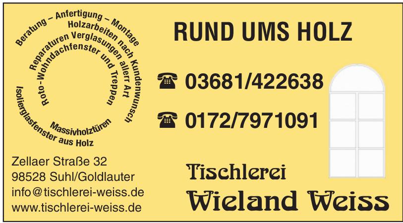 Tischlerei Wieland Weiss