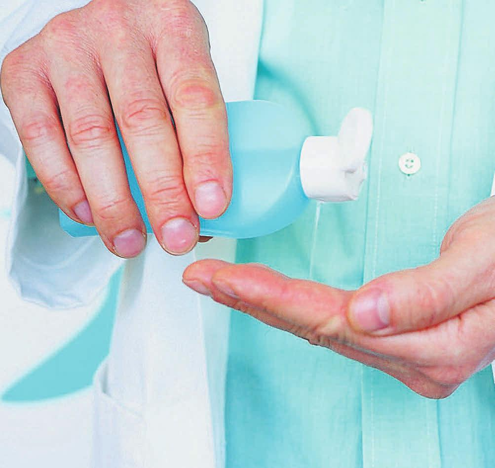 Hygiene und Desinfektion sind eigentlich selbstverständlich, aber in Coronazeiten noch wichtiger.