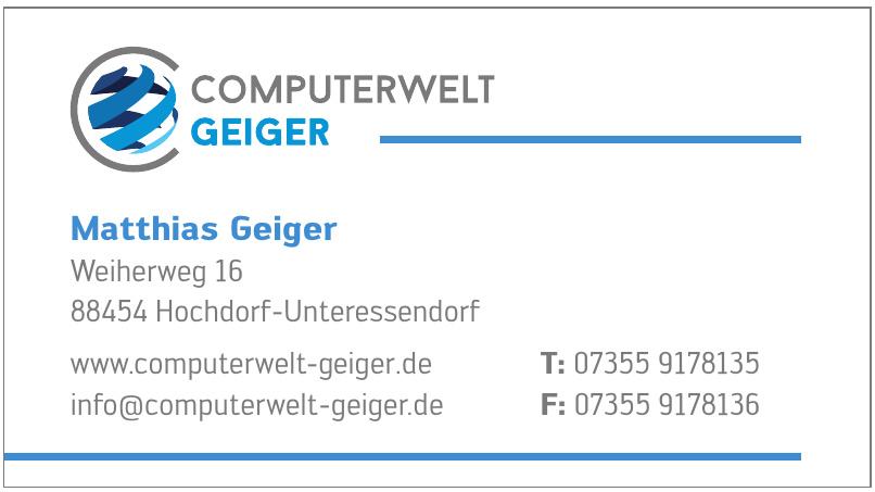 Computerwelt Geiger