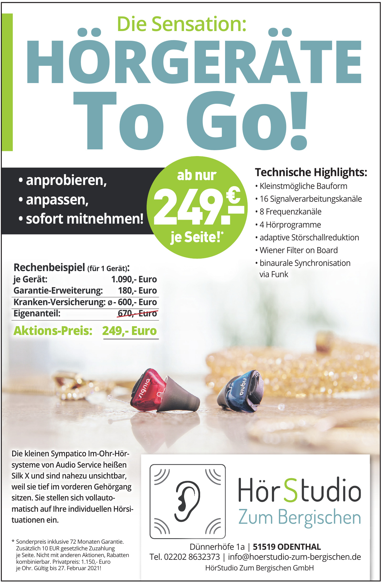 HörStudio Zum Bergischen GmbH