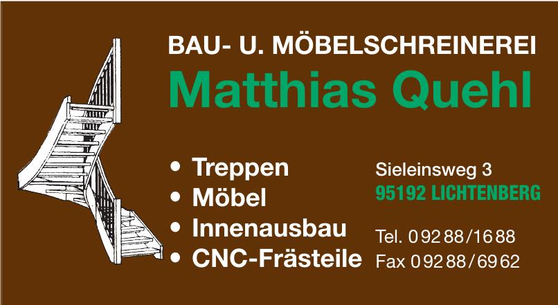 Bau- u. Möbelschreinerei Mathias Quehl