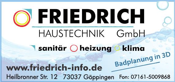 Friedrich Haustechnik GmbH