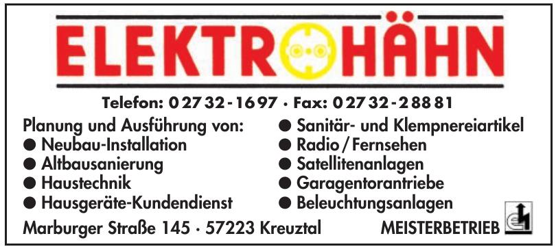 Elektro Hähn