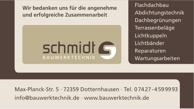 Schmidt Bauwerktechnik