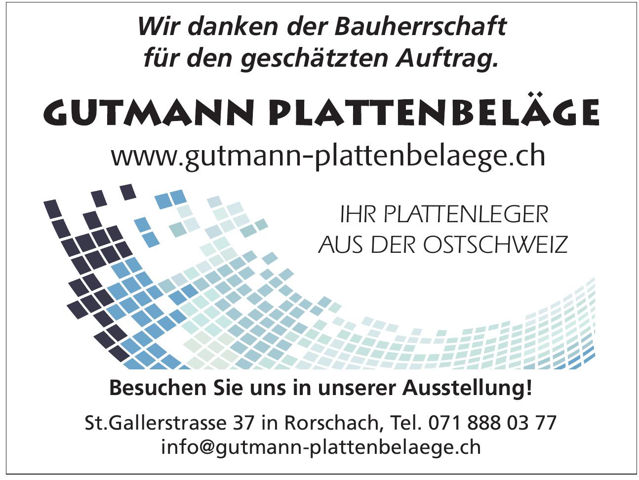 Gutmann Plattenbeläge