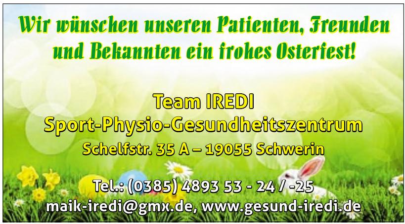 Team IREDI Sport-Physio-Gesundheitszentrum