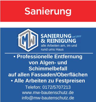 MW Sanierung & Reinigung