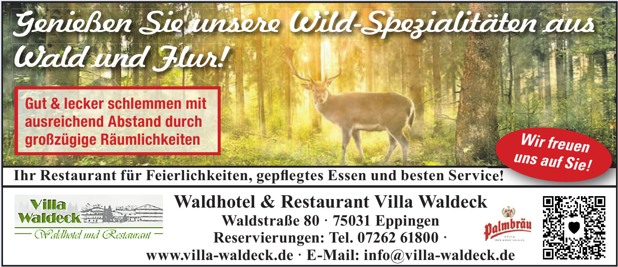 Waldhotel und Restaurant Villa Waldeck
