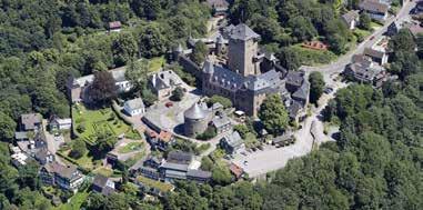 Auf Schloss Burg gibt es zahlreiche Events. Archivfoto: Uli Preuss