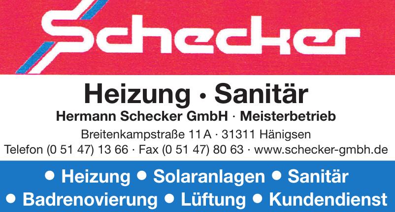 Hermann Schecker GmbH · Meisterbetrieb