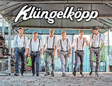 """Die Band """"Klüngelköpp"""" spielt am Samstagabend im Festzeit. Fotos: Archiv"""