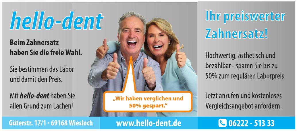 hello-dent