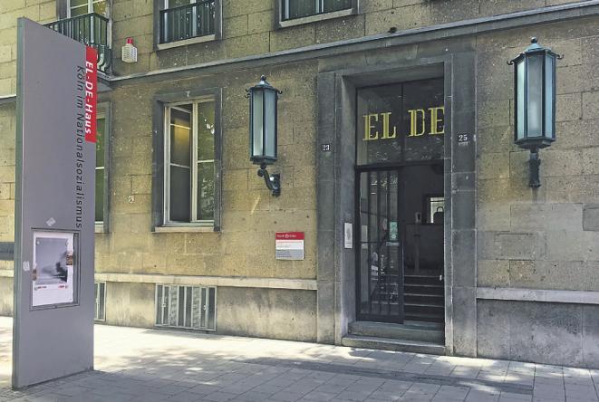 Das EL-DE-Haus ist am Appelhofplatz gelegen. Bild: Büge