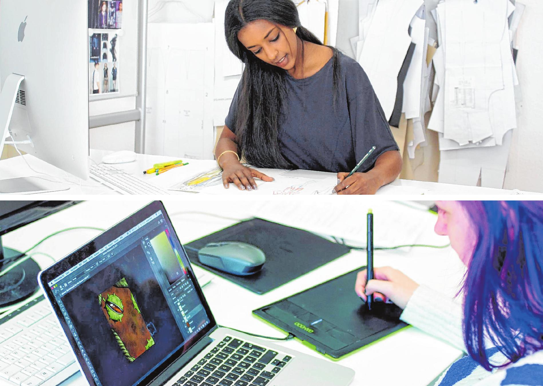 Designer/in werden