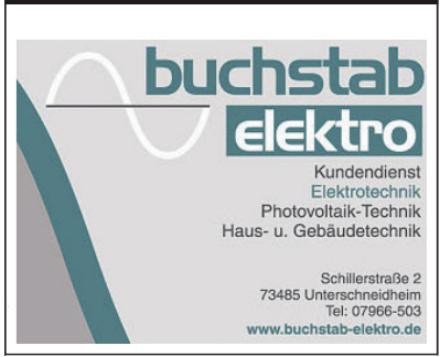 Buchstab Elektro