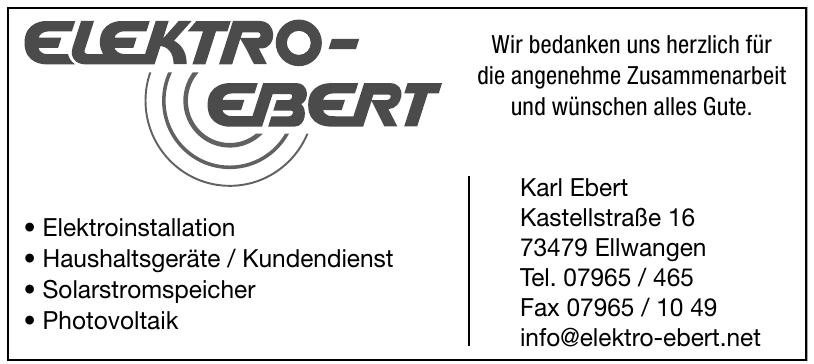 Elektro Ebert