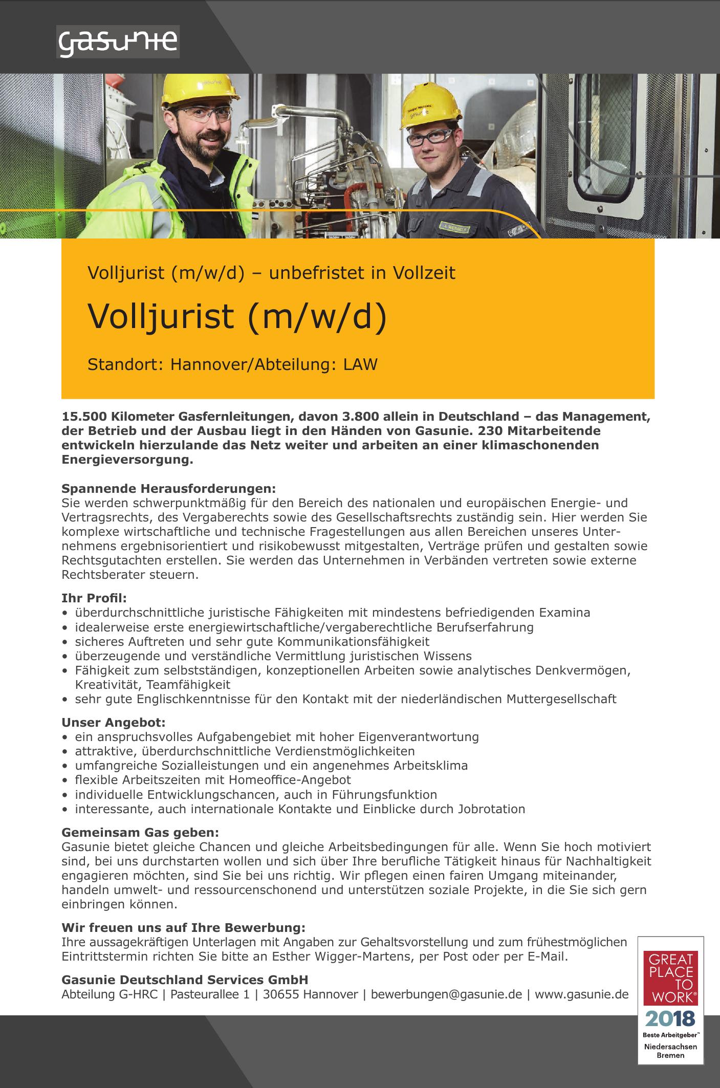 Gasunie Deutschland Services GmbH