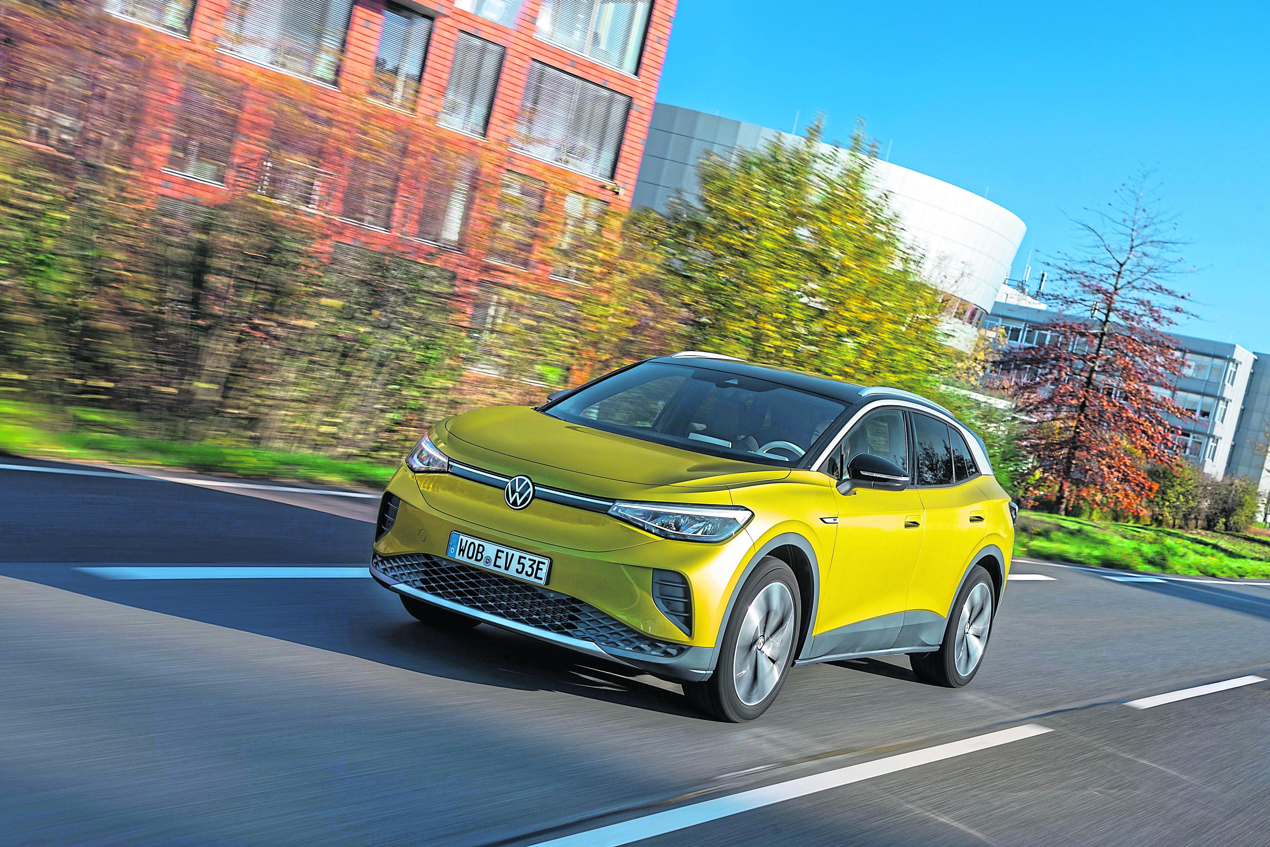 Eine Numer größer: Mit dem ID.4 will VW auf der ganzen Welt die E-Mobilität anschieben.