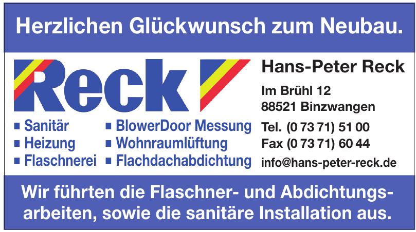 Hans-Peter Reck