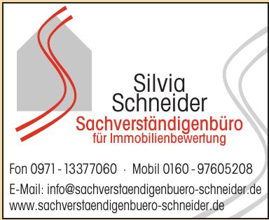 Silvia Schneider Sachverständigenbüro für Immobilienbewertung