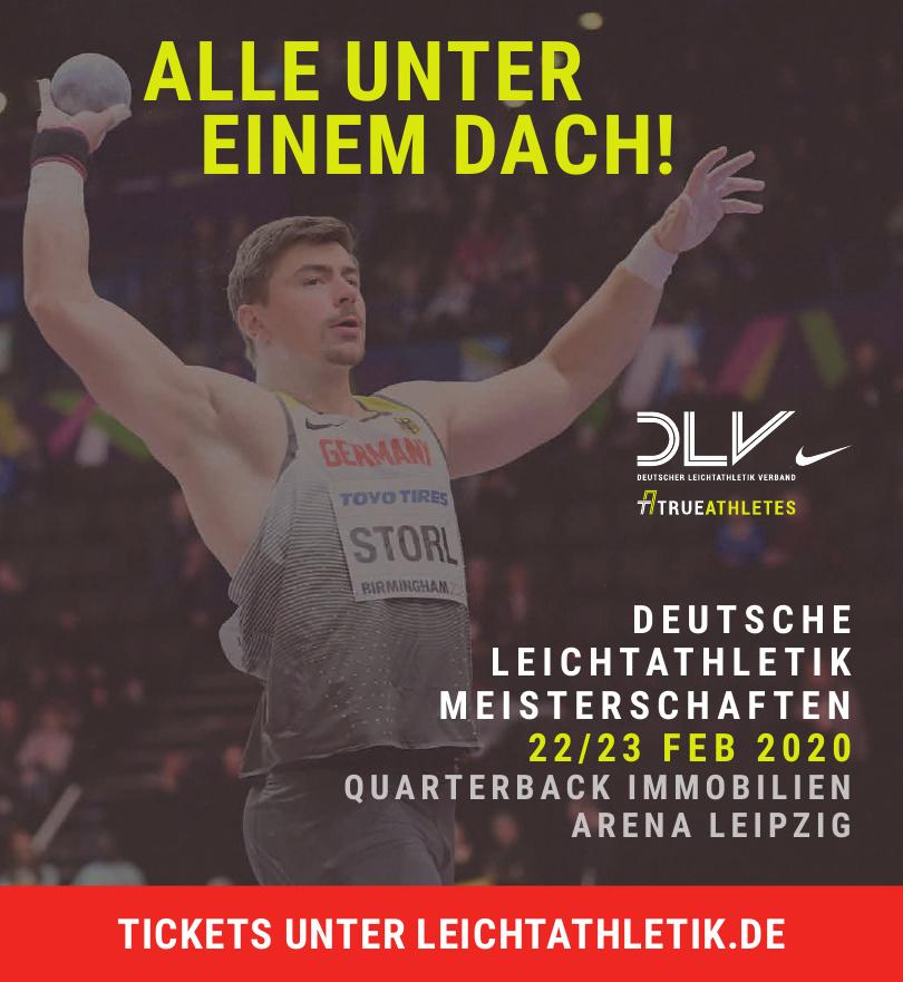 Deutsche Leichtatletik Meisterschaften 22/23 FEB 2020