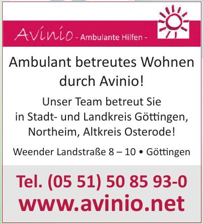 Avinio - Ambulante Hilfen