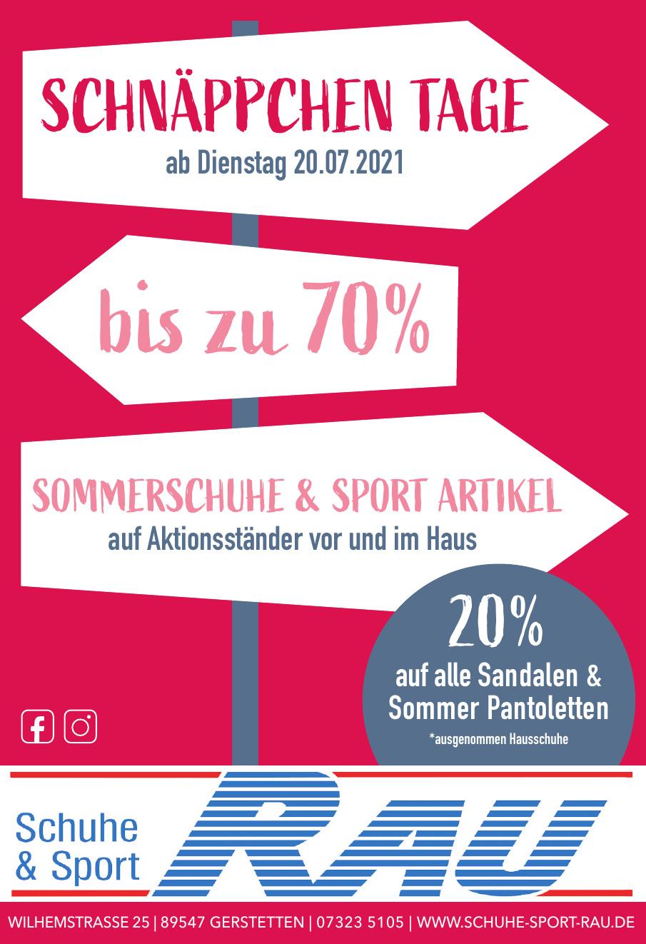 Schuhe & Sport Rau
