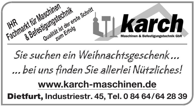 Karch Maschinen & Befestigungstechnik GbR