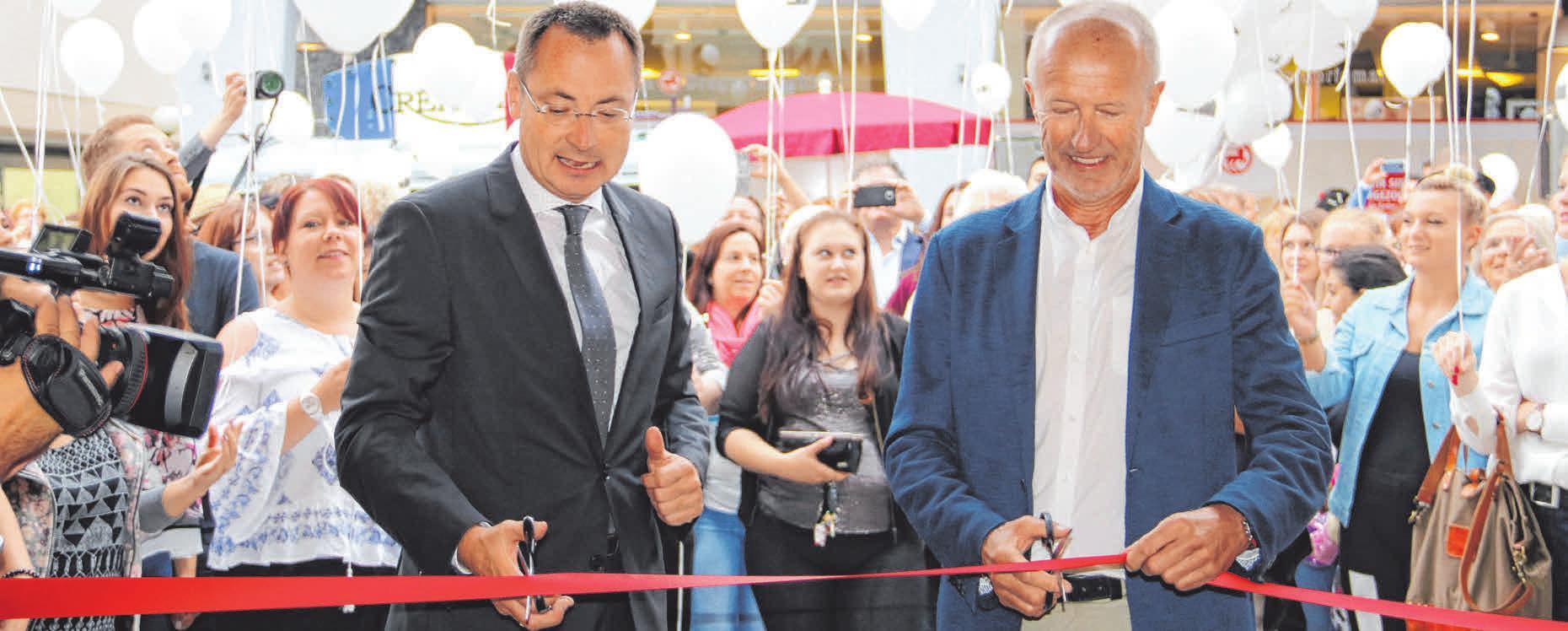 2017: Bei der Eröffnung des KUBUS. FOTO: ANJA LUTZ